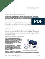 Creating Safe Portable Emergency Oxygen