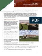 Staunton High School Renovation Fact Sheet