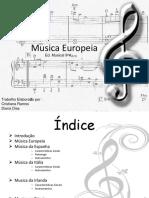 Musica Europeia