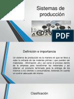 Unidad 2 Sistemas de Producción