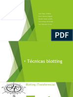Técnicas Blotting_ Southern, Northern, Western