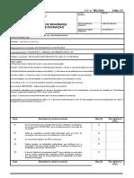 ANEXO I_Lista de Verificação de Segurança para Trabalhos de Escavação.doc