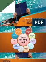 10. Syarat Syarat Tes Yang Baik(Indo)