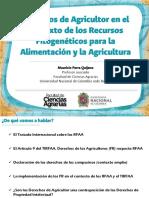 Derechos de Agricultor - Mauricio Quijano