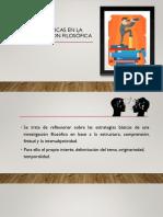 CUESTIONES METODOLÓGICAS EN LA INVESTIGACIÓN FILOSÓFICA
