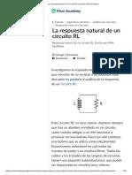 La Respuesta Natural de Un Circuito RL (Artículo) _ Khan Academy