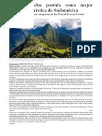 Machu Picchu postula como mejor atracción turística de Sudamérica.docx