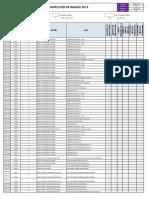Check List de Inspección de Bancas