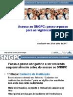 Passo a Passo SNGPC - Vigilâncias Sanitárias