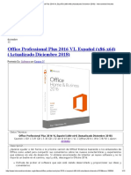 Office Professional Plus 2016 VL Español (x86-x64) (Actualizado Diciembre 2018) - IntercambiosVirtuales