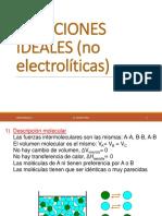 Soluciones de no electrolitos