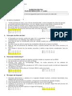 Guía N° 1 Ejercicios plan de redacción