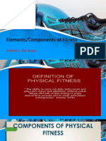 Elements of Physical Fitness-Arlene