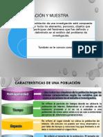 Población y muestras
