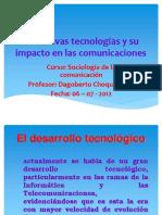 Las nuevas TICs y su impacto en el universo de las comunicaciones 2012 I.pptx