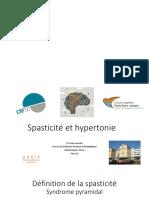 Spasticité Et Hypertonie AYMARD-Claire