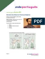 Estudos Dos Gêneros Textuais Digitais