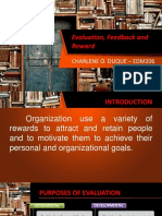 Evaluation, Feedback and Reward - CHARLENE O DUQUE.pptx