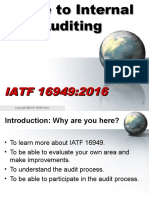 Guide to Internal Audits