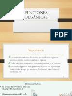 FUNCIONES ORGANICAS