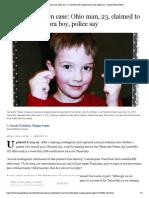 Timmothy Pitzen Case_ Ohio Man, 23, Claimed to Be Missing Aurora Boy, Police Say - Aurora Beacon-News