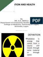 14.Radiation and Health 2019 Ug Nurse