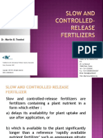 g - Controlled Release Fertilizers