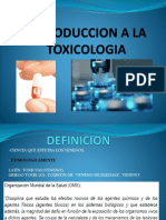 Introduccion a La Toxicologia