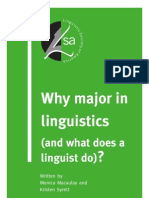 Whymajor in Linguistics
