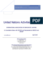 IADL UN Activities Bulletin April 2019