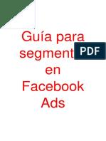 Guía para segmentar en Facebook Ads.pdf