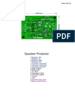 Speaker Protection Board for High Power Audio Amplifiers _ELECTRO INDIA