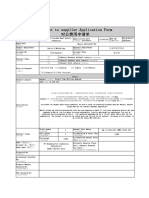 Payment to Supplier Application Form