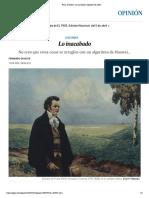 Franz Schubert_ Lo inacabado _ Opinión _ EL PAÍS
