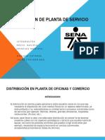 Distribución de Planta de Servicio