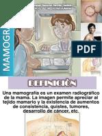 Comun Rojas, Gianmarco - Mamografía