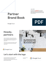 Google Cloud Partner Brand Book English