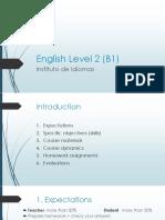 English Level 2 (B1) 2017-18 (1)