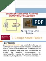 SEMANA 1 Elementos Psivos y Activos de Un Circuito Electrico, Leyes de Kirchhoff, Ley de Joule