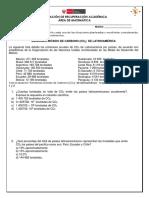 Evaluación recuperación matemática 5° 2018.docx