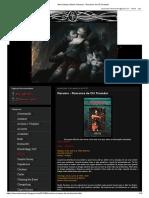 New Vampiro Brasil_ Resumo - Romance de Clã Toreador