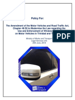Tint Policy Document
