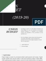 INTRIM UNION BUDGET 2019-20.pptx