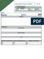 Formato de Planificaciones - Desarrollo Humano Integral