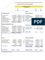 Analisis Financiero, Edo. Flujo Efectivo TAREA 5