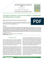 Impact of Oil Price to Growth, Unemployment, VN deficit
