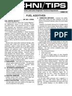 109 Fuel Additives
