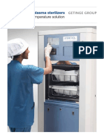 Getinge 46 Washer Disinfector - Service Instructions