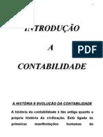 INTRODUÇAO  A CONTABILIDADE
