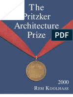 Arquitectura Pritzker Architecture Prize 2000 Rem Koolhaas 51 Pg